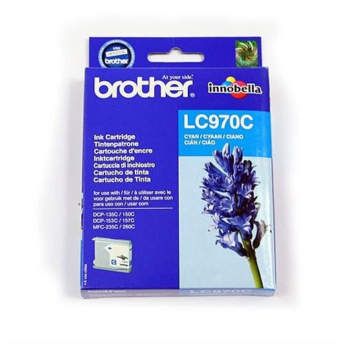 Brother LC970C Cyan Ink Cartridge