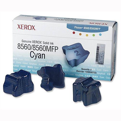 Xerox 108R00723 Cyan Ink Sticks Pack 3
