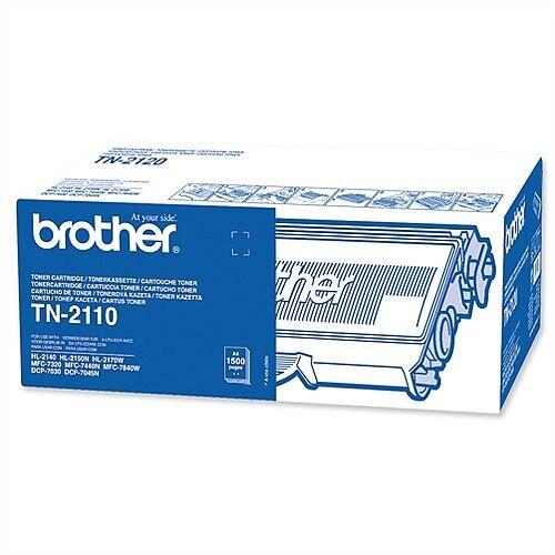 Brother TN-2110 Black Toner Cartridge TN2110
