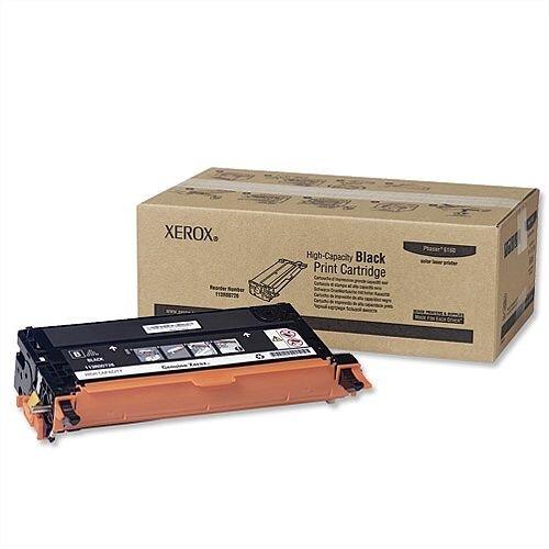 Xerox 113R00726 High Capacity Black Laser Toner for Phaser 6180 Series