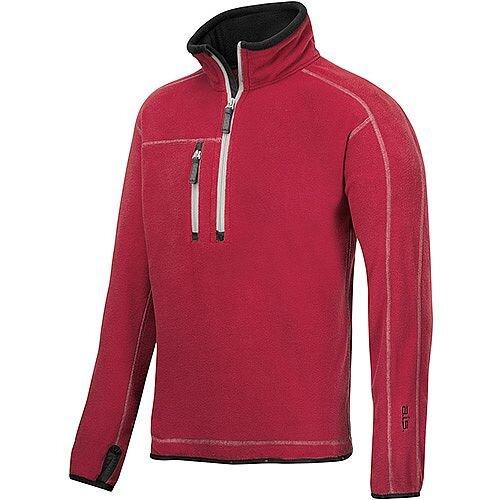Snickers 8013 A.I.S. Half Zip Fleece Size M Red WW4
