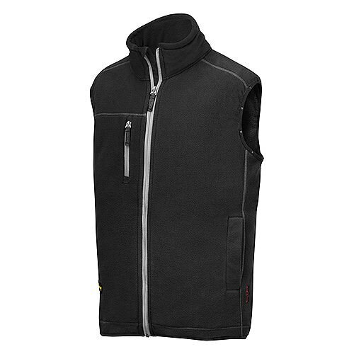 Snickers 8014 A.I.S. Fleece Vest Size S Black