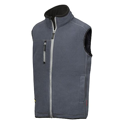 Snickers 8014 A.I.S. Fleece Vest Size S Grey