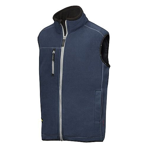 Snickers 8014 A.I.S. Fleece Vest Size M Navy