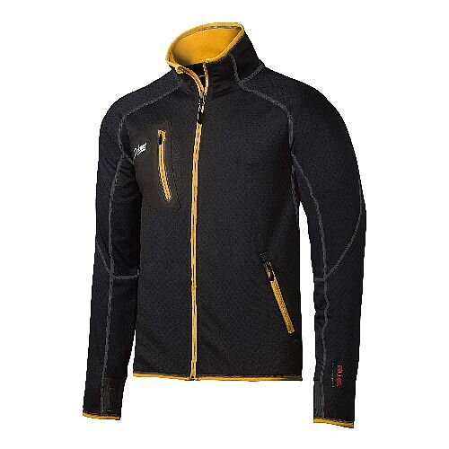Snickers 8015 Body Mapping A.I.S. Fleece Jacket Black