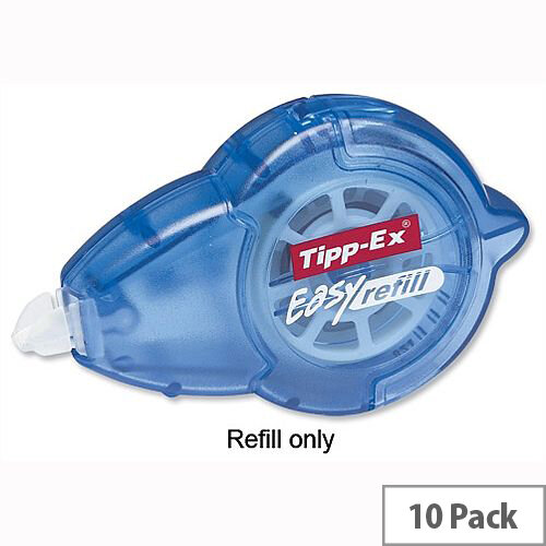 Tipp-Ex Refill for Easy Refill Correction Tape Roller Pack 10 Ref 879435