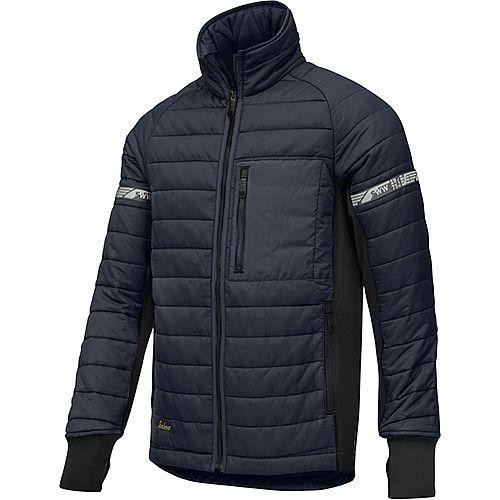 Snickers AllroundWork 37.5 Insulator Jacket Size L WW2 Navy-Black
