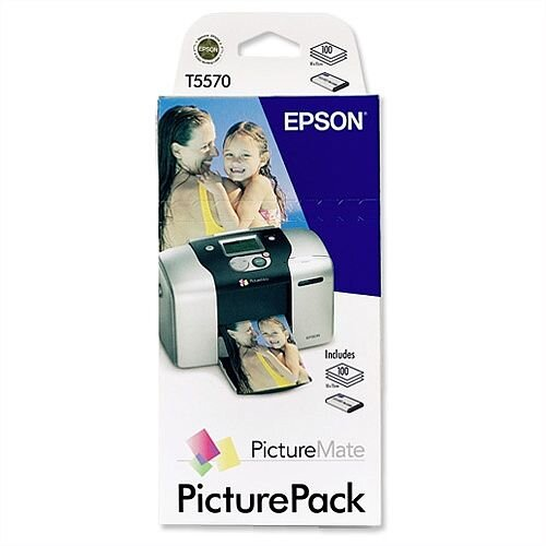 Epson T5570 Picture Pack Cartridge and Photo Paper