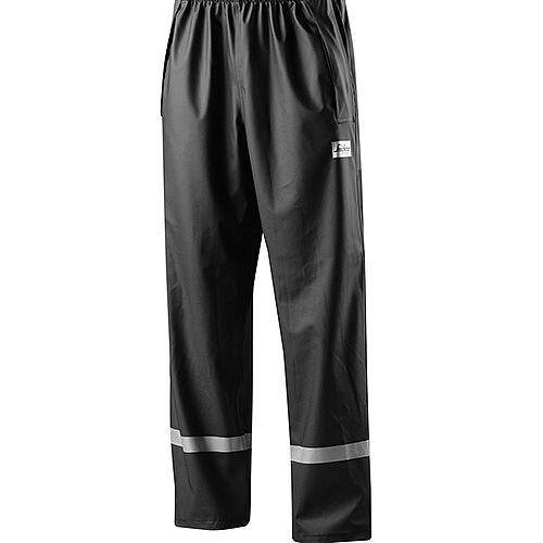 Snickers 8201 Rain Trousers PU  Black Size L