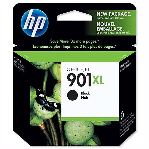 HP 901XL Black Ink Cartridge CC654AE