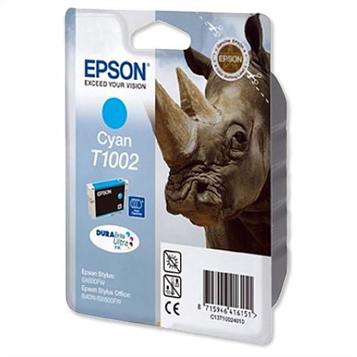 Epson Rhino T1002 Cyan Ink Cartridge