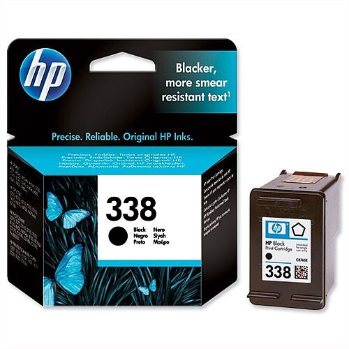 HP 338 Black Ink Cartridge C8765EE