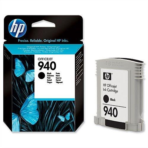 HP 940 Black Ink Cartridge C4902AE