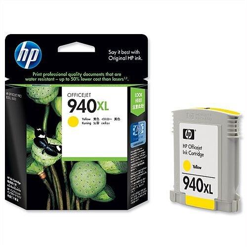 HP 940XL Yellow Ink Cartridge C4909AE