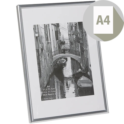 Fast Frame Silver A4 Photo Album Company