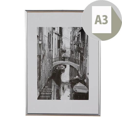 Fast Frame Silver A3 Photo Album Company
