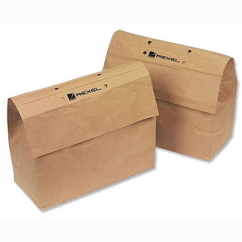 Rexel Recyclable Paper Bags For Mercury Shredder 23 Litre Pack 20 x 5