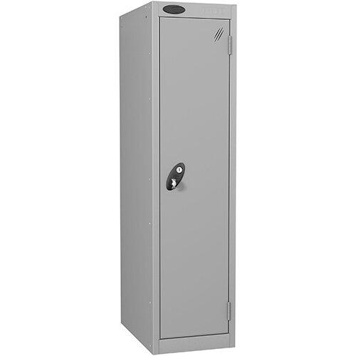 Probe 1 Door Low Locker Hasp &Staple Lock Extra Depth ACTIVECOAT W305xD460xH1220mm Silver