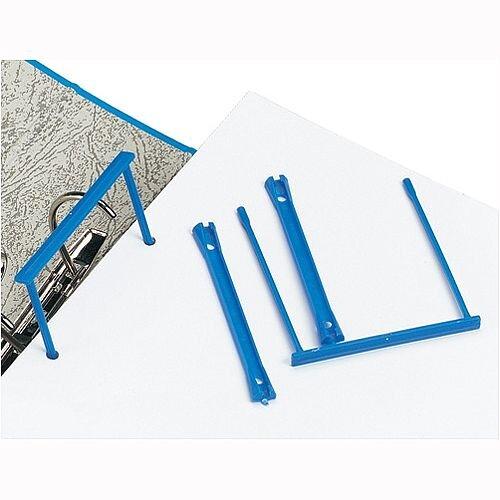 Plastic Filing Clip Blue Pack 10 5 Star