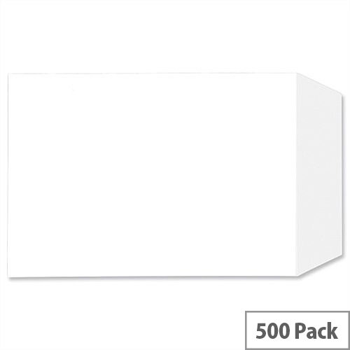 C5 White Envelopes Pocket 100gsm Peel and Seal Pack 500 5 Star