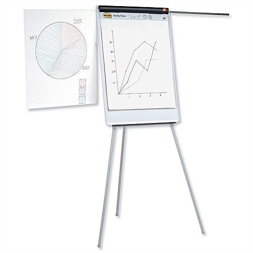 Office Executive Easel Magnetic with Pen Tray and Extension Arms 5 Star