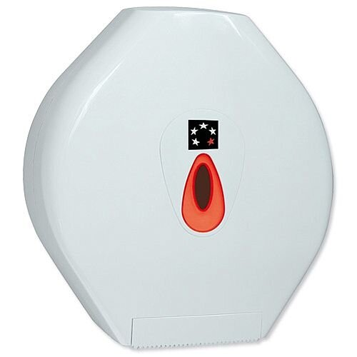 Jumbo Toilet Roll Dispenser Large 5 Star
