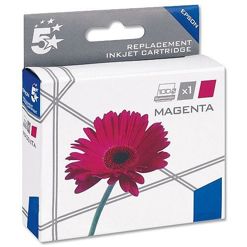 Epson T1803 Compatible Magenta Daisy Series Inkjet Cartridge Star C13T18034010