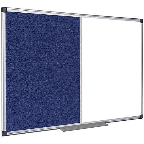5 Star Office Combination Board Drywipe/Felt 900x600mm
