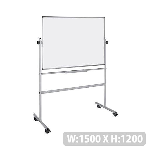 5 Star Revolver Mobile Magnetic Whiteboard 1500x1200mm
