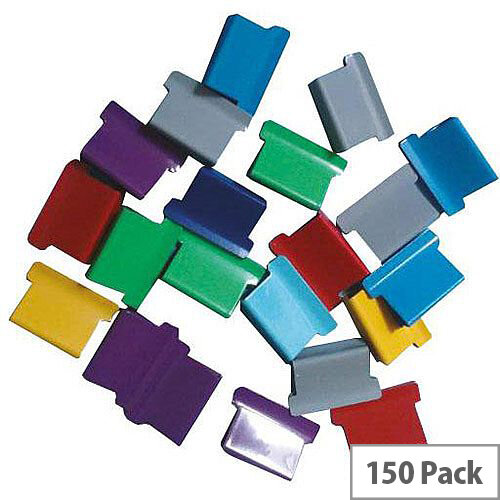 5 Star Office Ultra Clip 40 Refills Multi Coloured  Box of 150