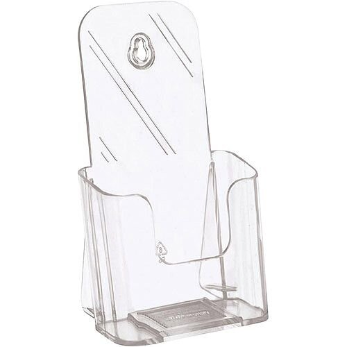 5 Star Office Size DL 1/3 A4  Literature Holder Slanted  Clear