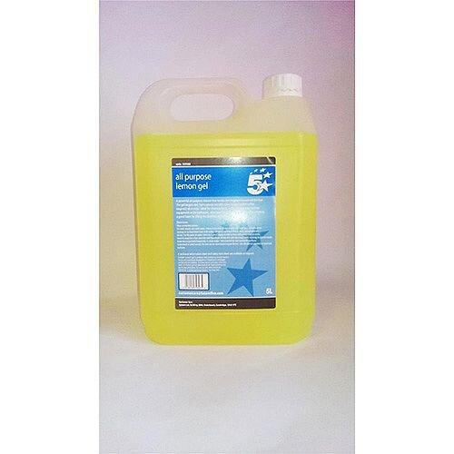 5 Star Facilities All Purpose Lemon Cleaning Gel 5 Litre