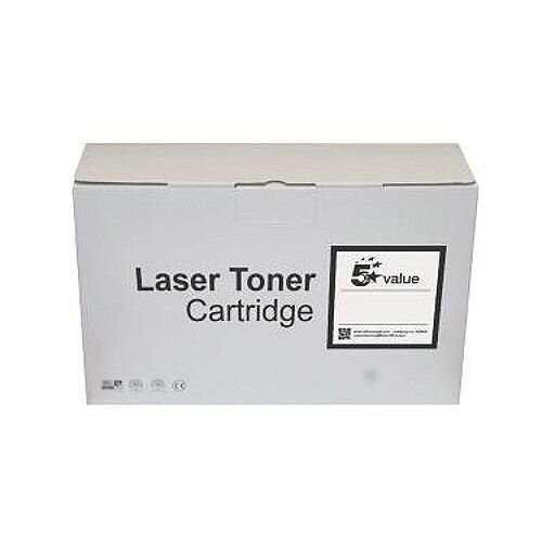 5 Star Value Remanufactured Laser Toner Cartridge Yield 2600 Pages Black for Brother Printers