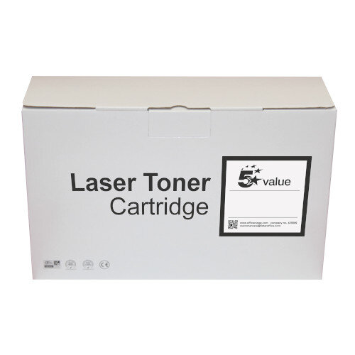 5 Star Value Remanufactured Laser Toner Cartridge Yield 2600 Pages Black Brother TN2120 Alternative Ref 940899