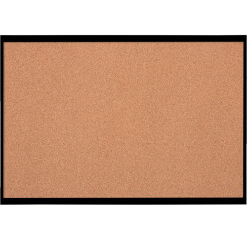 Nobo Cork Board with Black Frame 585x430mm