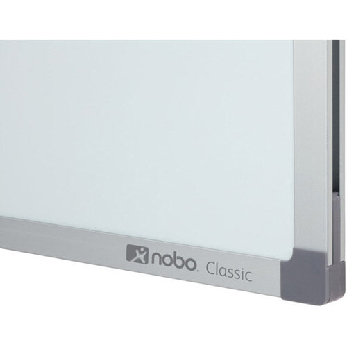 Nobo Classic Steel Magnetic Whiteboard 2400x1200mm