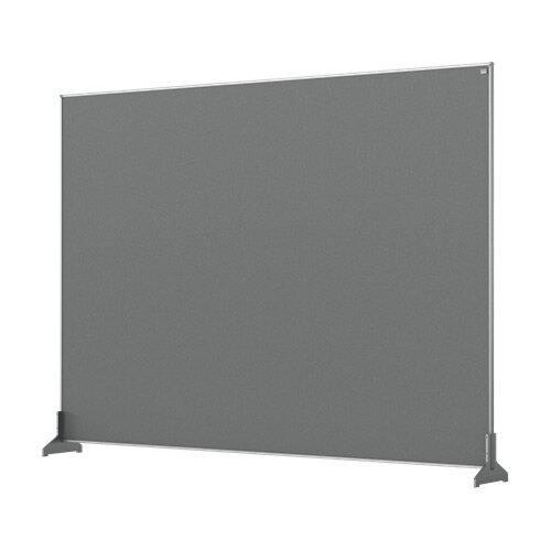 Nobo Impression Pro Desk Divider Screen Felt Surface 1400x1000mm Grey