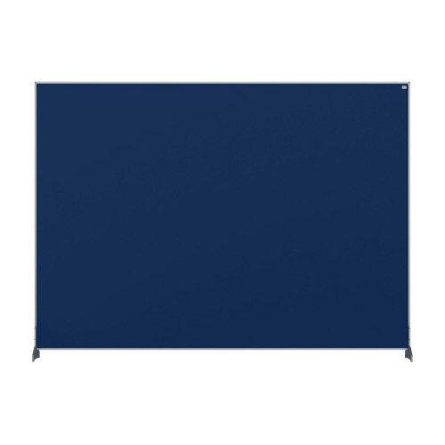 Nobo Impression Pro Desk Divider Screen Felt Surface 1400x1000mm Blue