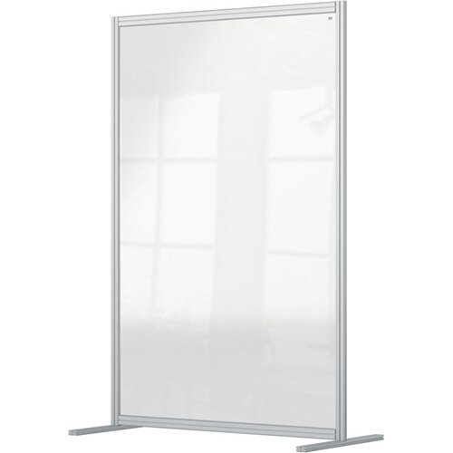 Nobo Premium Plus Clear Acrylic Protective Room Divider Screen Modular System 1200x1800mm