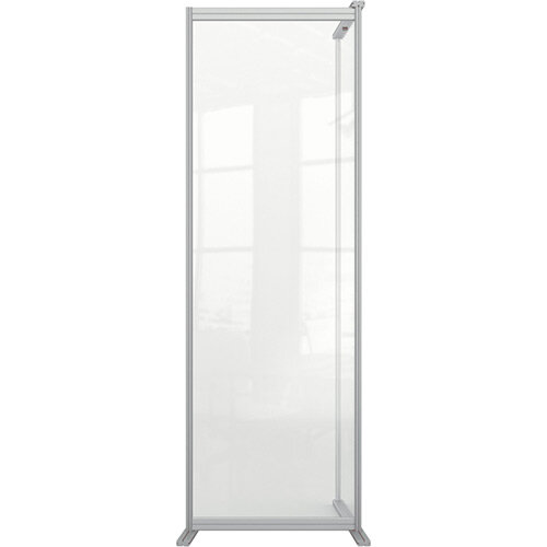 Nobo Premium Plus Clear Acrylic Protective Room Divider Screen Modular System Extension 600x1800mm