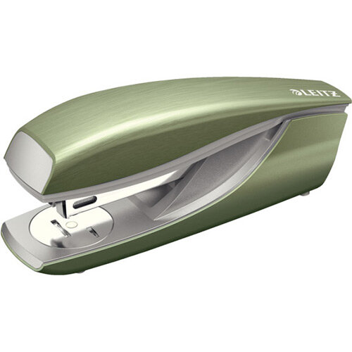 Leitz New NeXXt Style Metal Office Stapler 30 Sheet Capacity Celadon Green
