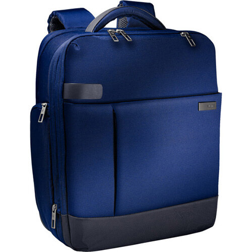 Leitz Complete 15.6in Laptop Backpack Smart Traveller Titan Blue