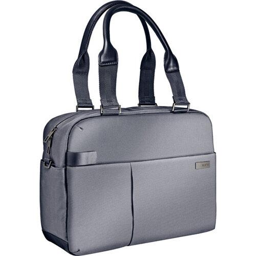 Leitz Complete 13.3in Laptop Shopper Bag Smart Traveller Silver