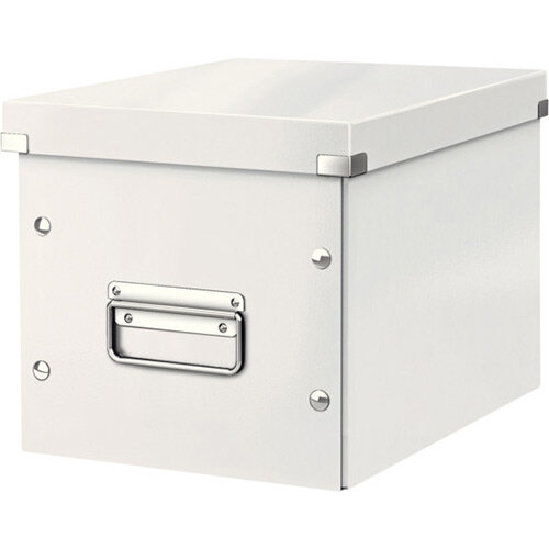 Leitz Box Click &Store Cube Medium Storage Box White