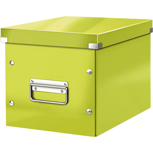 Leitz Box Click &Store Cube Medium Storage Box Green