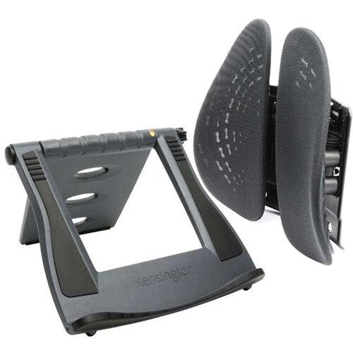 Kensington Comfort Back Rest and FOC Easy Riser Laptop Stand AC810079