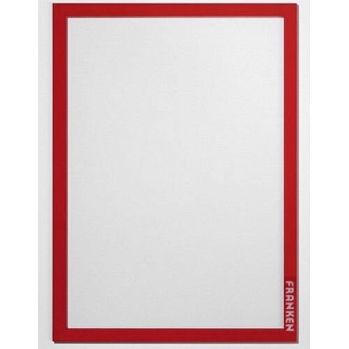 Franken Self-Adhesive Document Holder PRO Red Pack of 2 AR14012