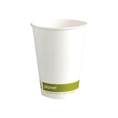 Planet 8oz Single Wall Cups Pack of 50 HHPLASW08