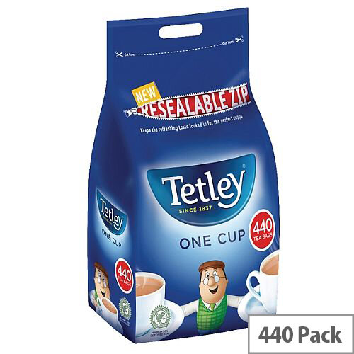 Tetley One Cup Tea Bags High Quality Pack 440
