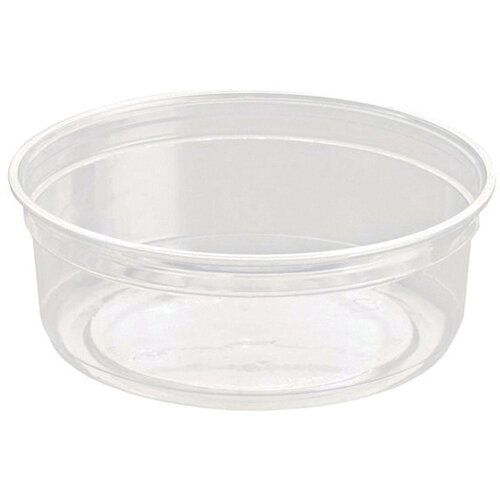 Caterpack Biodegradable rPET DeliGourmet Food Container 8oz Pack of 50 RY10579 / DM8R